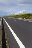 Highway in spring stock image