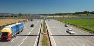 Highway in Summer Stock Photo