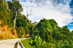 Highway in Thailand Royalty Free Stock Image