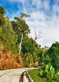 Highway in Thailand Royalty Free Stock Photography