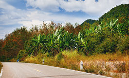 Highway in Thailand Stock Image