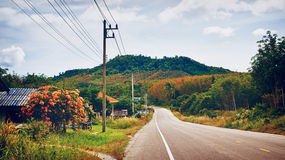Highway in Thailand Stock Images