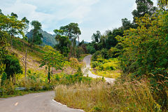 Highway in Thailand Royalty Free Stock Images