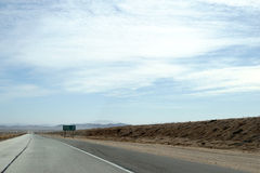 Highway to Barstow Stock Photo