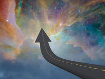 Highway to Heaven Royalty Free Stock Photography