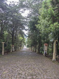 Highway to heaven Tepeyac church, San Rafel del Norte, Nicaragua Stock Photos