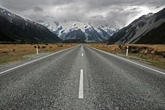 Highway to hell Royalty Free Stock Image