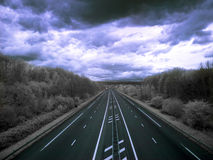 Highway to hell Royalty Free Stock Photos
