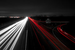 Highway to home Stock Image
