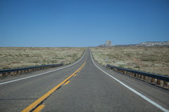 Highway to monument valley Royalty Free Stock Photography