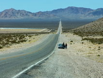 Highway to Nowhere Stock Photo