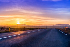 Highway to nowhere Stock Photos