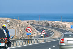 Highway to ocean Royalty Free Stock Image