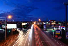 Highway to the Rostov-on-Don city. Russia Royalty Free Stock Photography