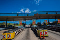Highway Toll Gates Royalty Free Stock Image