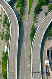 Highway top view Stock Image