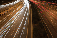 Highway Traffic Royalty Free Stock Photos