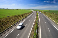 Highway traffic Stock Photos