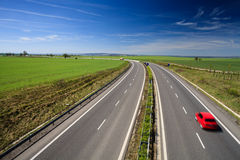 Highway traffic Royalty Free Stock Photo