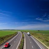 Highway traffic Stock Image