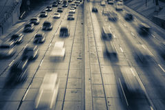 Highway traffic Stock Photos