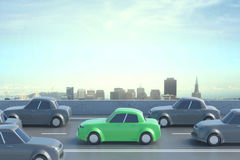 Highway traffic concept Royalty Free Stock Images
