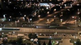 Highway traffic stock video