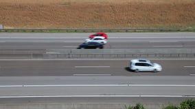 Highway traffic stock video footage