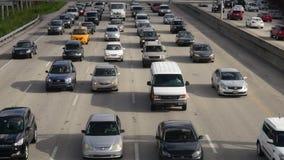 Highway Traffic Jam Stock Photos