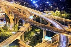 Highway traffic Royalty Free Stock Image