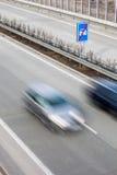 Highway traffic Stock Photo