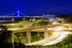 Highway traffic road Royalty Free Stock Photography
