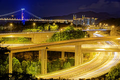 Highway traffic road Royalty Free Stock Photos