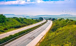 Highway transportation Royalty Free Stock Photography