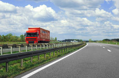 Highway truck Royalty Free Stock Photo