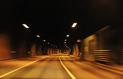 Highway tunnel Royalty Free Stock Images