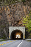 Highway tunnel Stock Images
