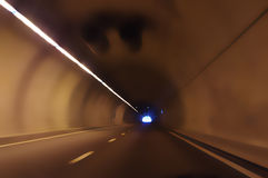 Highway tunnel Stock Image