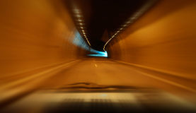Highway tunnel Stock Photo
