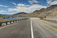 Highway 97 Royalty Free Stock Photo