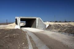 Highway under construction stock photos