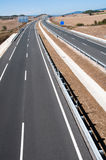 Highway under construction, Spain Royalty Free Stock Images
