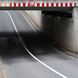 Highway underpass  Royalty Free Stock Photography