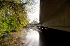 Highway underpass Royalty Free Stock Images