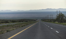 On a Highway in the USA, New Mexico Stock Photos