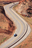 Highway in Utah Royalty Free Stock Photo