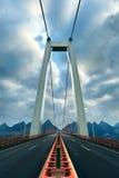 Highway viaduct Stock Image
