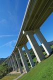 Highway viaduct Royalty Free Stock Image