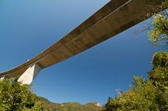 Highway viaduct. Near Žirovnica, Slovenia Stock Photo