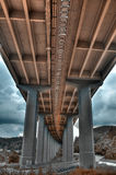 Highway viaduct Royalty Free Stock Images